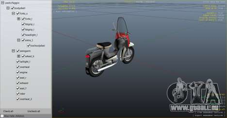Pappa-Tunturi (Beta) pour GTA 4 Vue arrière de la gauche