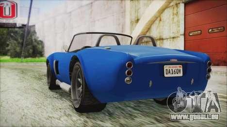 GTA 5 Declasse Mamba für GTA San Andreas linke Ansicht
