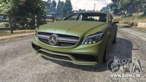Mercedes-Benz CLS 63 AMG 2015 für GTA 5