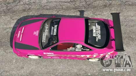 GTA 5 Honda Integra DC2 Rückansicht