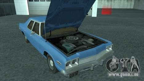 Dodge Monaco V8 7.2L 1974 pour GTA San Andreas vue de droite