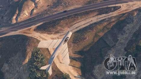 GTA 5 Le MiG-15 quatrième capture d'écran