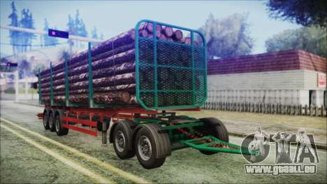 Iveco EuroTech Forest Trailer für GTA San Andreas