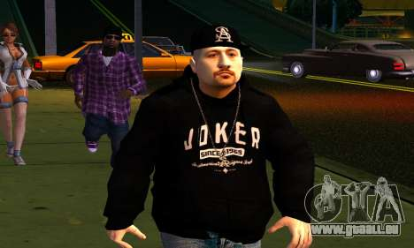 Mens Mega Pack für GTA San Andreas neunten Screenshot