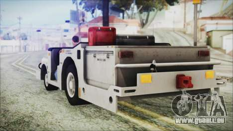 BF3 Push Car für GTA San Andreas linke Ansicht