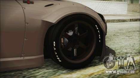 Toyota GT86 Rocket Bunny Tunable HQLM für GTA San Andreas zurück linke Ansicht