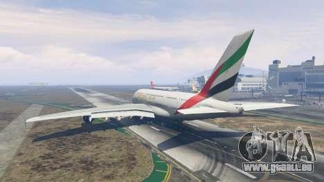 Airbus A380-800 für GTA 5
