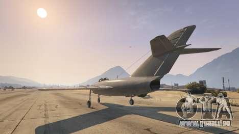 GTA 5 Die MiG-15 dritten Screenshot