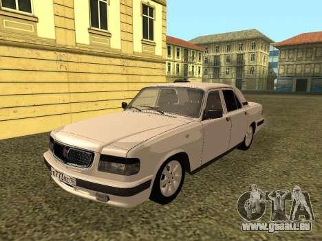 Wolga GAZ 3110 für GTA San Andreas