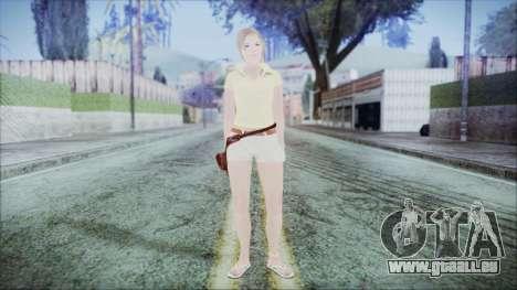 Steph Skin für GTA San Andreas zweiten Screenshot