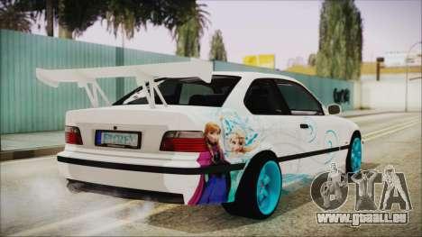 BMW M3 E36 Frozen für GTA San Andreas linke Ansicht