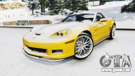 Chevrolet Corvette ZR1 pour GTA 5