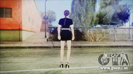 Lara Flaca Business Suit pour GTA San Andreas troisième écran