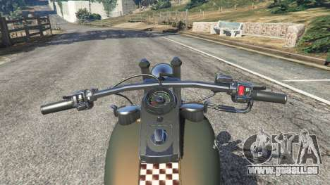 Harley-Davidson Knucklehead Bobber für GTA 5