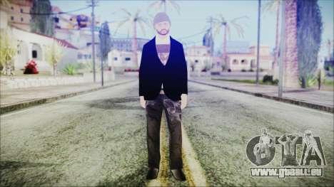 GTA Online Skin 25 pour GTA San Andreas deuxième écran