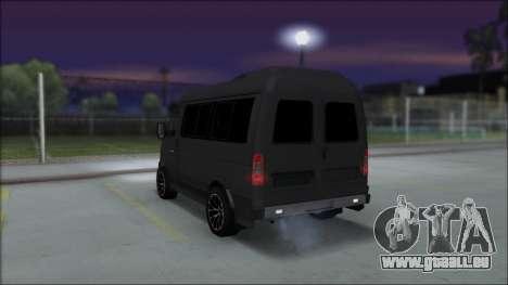 Gas-2217 Luxe für GTA San Andreas linke Ansicht