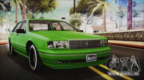 GTA 5 Albany Primo Custom No Interior IVF pour GTA San Andreas