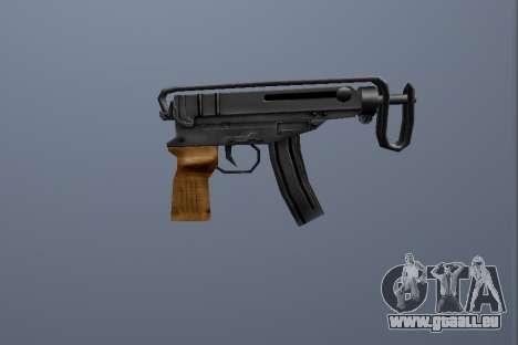 PP Skorpion für GTA San Andreas zweiten Screenshot