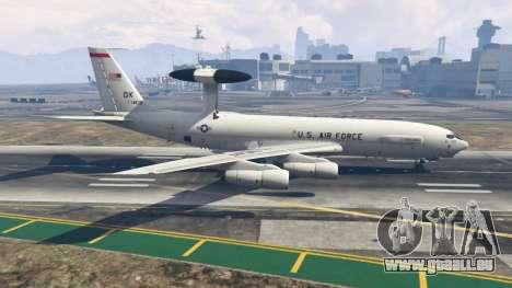 GTA 5 Boeing E-3 Sentry deuxième capture d'écran