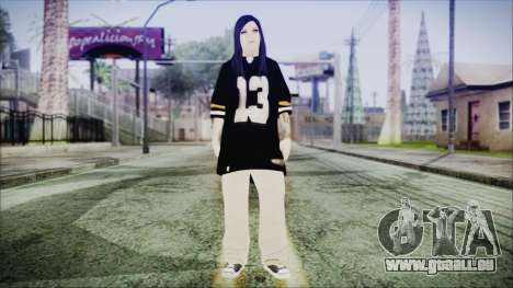 GTA 5 Online The Heist Gasmask Blue für GTA San Andreas zweiten Screenshot