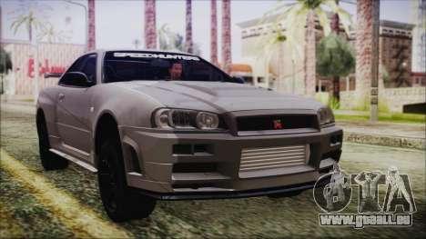 Nissan Skyline Nismo Body Kit pour GTA San Andreas