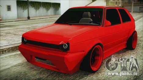 Volkswagen Golf 2 Ghetto Cult pour GTA San Andreas