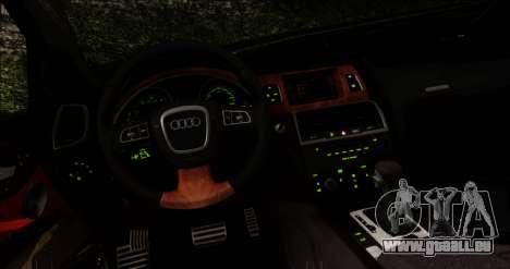 Audi Q7 für GTA San Andreas Rückansicht