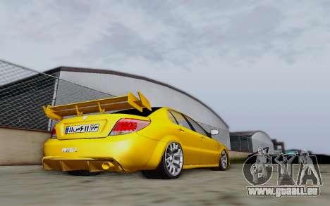 Ikco Dena Full Tuning für GTA San Andreas zurück linke Ansicht