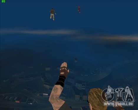 La folie dans l'état de San Andreas v1.0 pour GTA San Andreas huitième écran
