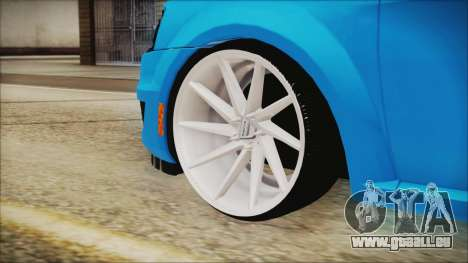Dacia Logan Cadde Style für GTA San Andreas zurück linke Ansicht