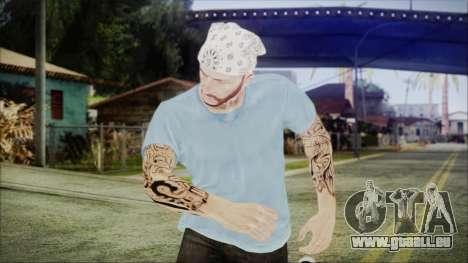 GTA Online Skin 5 pour GTA San Andreas