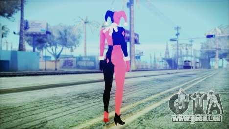 Batman Arkham Knight Harley Quinn Classic pour GTA San Andreas troisième écran