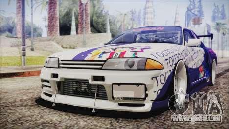 Nissan Skyline R32 Nozomi Toujo Itasha pour GTA San Andreas