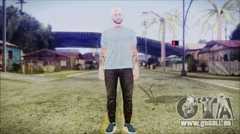 GTA Online Skin 5 pour GTA San Andreas deuxième écran