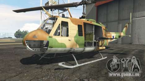 GTA 5 Bell UH-1D Israeli Air Force