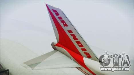 Boeing 747-237Bs Air India Emperor Shahjehan für GTA San Andreas zurück linke Ansicht