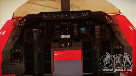 Boeing 747-100 Merry Christmas pour GTA San Andreas vue arrière