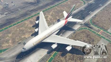 Airbus A380-800 pour GTA 5