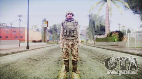 World In Conflict Generic Russian pour GTA San Andreas deuxième écran