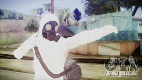 GTA 5 Online The Heist Gasmask Yellow für GTA San Andreas