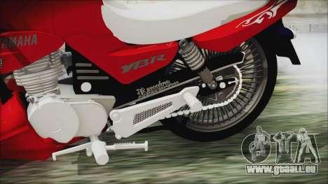 Yamaha YBR Tuning für GTA San Andreas rechten Ansicht