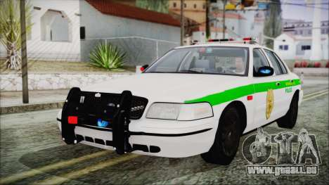 Ford Crown Victoria Miami Dade pour GTA San Andreas