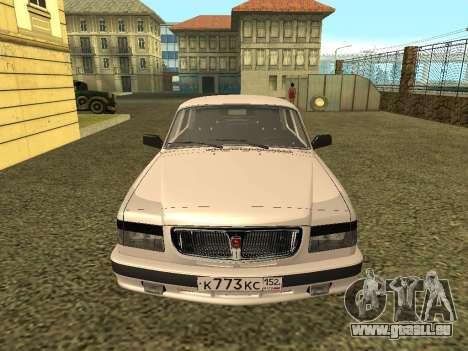 Wolga GAZ 3110 für GTA San Andreas rechten Ansicht