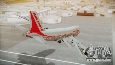 Boeing 747-237Bs Air India Kanishka für GTA San Andreas linke Ansicht