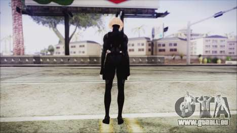 Blonde Domino from Deadpool für GTA San Andreas dritten Screenshot