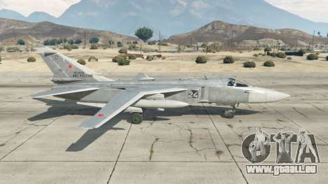 GTA 5 Su-24M deuxième capture d'écran