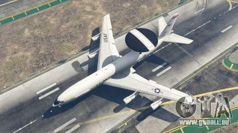 GTA 5 Boeing E-3 Sentry quatrième capture d'écran