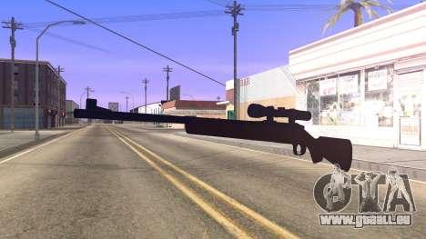 Remington 700 HD pour GTA San Andreas deuxième écran