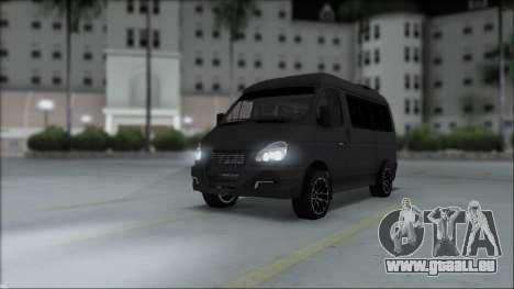 Gas-2217 Luxe für GTA San Andreas