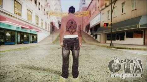 Skin GTA Online 1 für GTA San Andreas dritten Screenshot